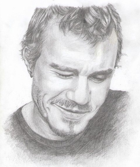 Heath Ledger by LanaSant